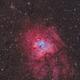Sh2-206 ou Ngc 1491- la nébuleuse de l'empreinte fossile,                                astromat89