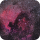 NGC 7000 The North America Nebula, cropped,                                ctron