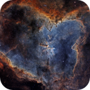 Heart Nebula in narrow band,                                Rick Stevenson