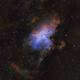 M16, Eagle Nebula - Hubble Palette,                                riot1013