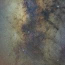 Milky Way mosaic from Cepheus to Scorpio (II),                                Máximo Bustamante