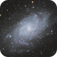 M33 - The Triangulum Galaxy,                                James Pelley
