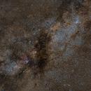 Norma Star Cloud - NGC 6067 and NGC 6188 (Rim Nebula) - 85mm,                                Frank