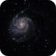 M101 - Pinwheel Galaxy,                                shackd