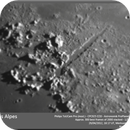 Moon - Vallis Alpes region.,                                Koen Dierckens