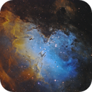 The Eagle Nebula (M16),                                Chris Parfett @astro_addiction