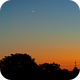 Venus meets Jupiter at dusk,                                K. Schneider