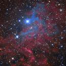 IC405 Flaming Star Nebula LRGB (data shared by Oscar),                                Marco Favro