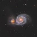 M51 under Moon,                                pmneo