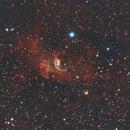 The Bubble Nebula (NGC 7635),                                Josh Woodward