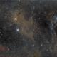 NGC1499 and M45 wide field,                                Nenad Vasilijevic