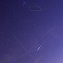 Ultrabright Iridium flare in Cygnus,                                Luigi Fontana