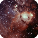 NGC896 Part of Heart Nebula (Bicolor Narrowband Ha+OIII),                                Marco Stra