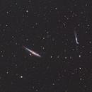The Whale Galaxy (NGC4631) & Hockey Stick Galaxy (NGC4657),                                Adam T.