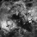 Starless version of nebulosity in Cygnus imaged in H-alpha,                                Andrew_B