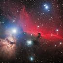 IC 434, The Horsehead and Flame Nebulas,                                Ruben Barbosa