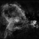 IC1805 Heart Nebula in Ha,                                rayp