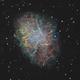 Crab nebula SHO + RVB,                                Jeffbax Velocicaptor