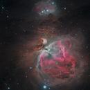 M42 Ha LRGB,                                Andreas Zirke