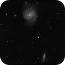 A Study of the Virgo Galaxy Cluster - Part 38: Messier 100 - Final Image,                                Timothy Martin & Nic Patridge