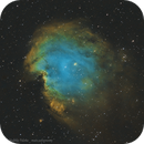 Monkey Head Nebula in SHO,                                Matteo Monico