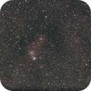 9 minutes on the Cone nebule during Christmas 2006,                                Stefano Ciapetti