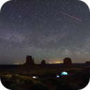 Milky way rises over Monument Valley,                                Boommutt