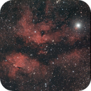 Sard and Butterfly nebula ( just 6 x 60 seconds subs ),                                Luis Marco Gutierrez