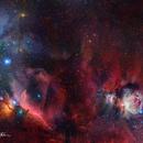 Orion Mosaic- 12 Panels,                                Matt Harbison