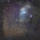 NGC7635 Bubble Nebula SHOLRGB,                                Sean McCully