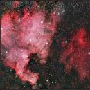North America Nebula, Pelican Nebula (NGC 7000, IC 5070),                                Gabriel Cardona