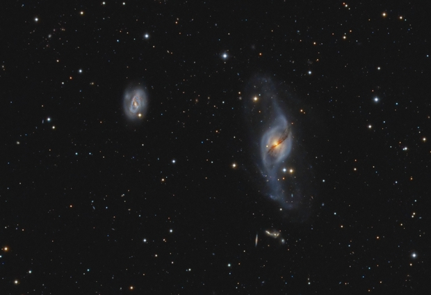 NGC3718,                                Mats Pfersdorff