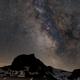 Sagittarius, Saturn, Jupiter behind the Gantrisch, swiss alps,                                Martin Mutti