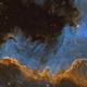 NGC 7000 The big wall,                                Marc Verhoeven
