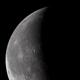 Waning crescent moon,                                Máximo Bustamante