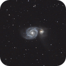 M51 - Whirlpool Galaxy,                                Lee B