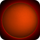 Sun in H-Alpha Sunspot 2767 and active area 2768,                                nonsens2