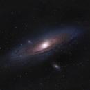 Andromeda Galaxy OSC,                                Brian Maurer