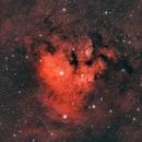 NGC 7822 through dual band L-eNhance filter,                                JohnAdastra