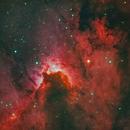 Cave Nebula (Sh2-155, VdB155),                                Gary Lopez