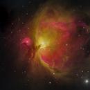M42 Orion Nebula,                                hy