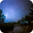 cool lightning I shot,                                minoSpace