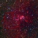 NGC 3576 - Statue of Liberty Nebula,                                Gabe van den Berg