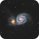 M51 The Whirlpool Galaxy,                                Andreas Eleftheriou