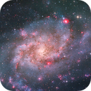 The Triangulum Galaxy - Zoom in,                                Arnaud Peel