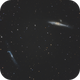 Whale and Hockey stick Galaxies,                                Cedric BEGUE