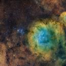 M6 / NGC6374 / NGC 6425 in SHO,                                Philippe BERNHARD