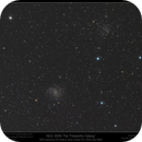 Supernova 2017eaw in NGC 6946 wide field shot with NGC 6939,                                Mike Oates