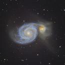 "M51 ""Whirlpool Galaxy"",                                Poochpa"