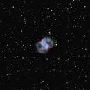 m76 (little Dumbbell planetary nebula),                                *philippe Gilberton